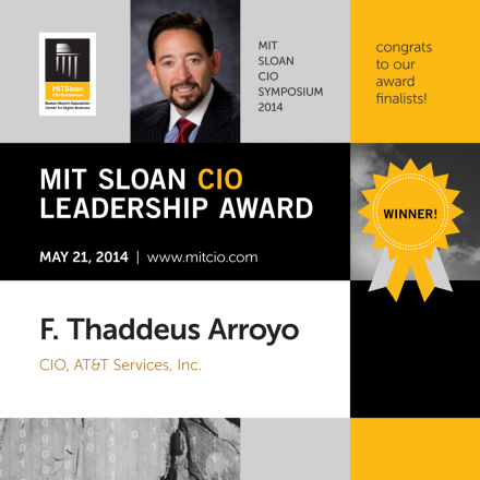 The MIT Sloan CIO Leadership Award